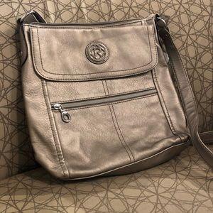 Metallic Relic Crossbody Bag